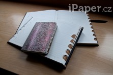 Paperblanks adresář Midnight Steel midi 4601-1