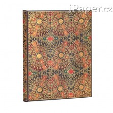 Paperblanks zápisník Fire Flowers ultra linkovaný 5409-2