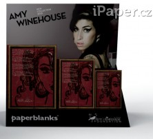 Paperblanks zápisník Amy Winehouse, Tears Dry 2558-0 midi linkovaný