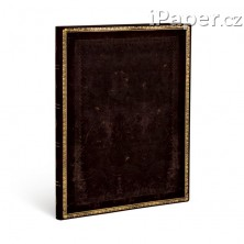 Paperblanks zápisník Black Moroccan Flexis Ultra linkovaný 4446-8