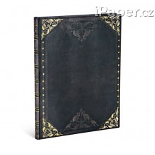 Paperblanks zápisník Midnight Rebel ultra linkovaný 4629-5
