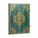 Paperblanks zápisník Turquoise Chronicles ultra linkovaný 3213-7